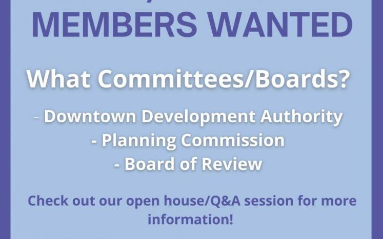 Board Recruitment Flyer