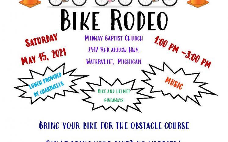 Bike Rodeo Flyer