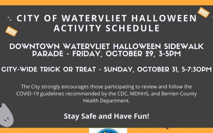 2021 Halloween Festivities Announced